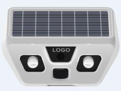 Las luces solares con sensor de movimiento PIR de 120 grados de la cámara de seguridad y de las luces de jardín al aire libre