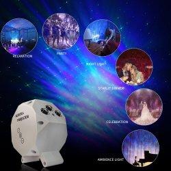 Звезда проектор ночное освещение вселенной лампы проектора с Nebula Cloud последствия для детей в кино