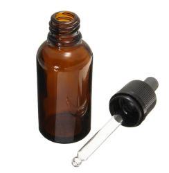 Reagens-Augen-Tropfenzähler-Absinken bernsteinfarbige GlasAromatherapy flüssige Pipette-Flaschen-nachfüllbarer Flaschen-Arbeitsweg-Potenziometer