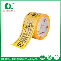3 Zoll durch Firmenzeichen-Drucken-hochfestes Verpackungs-acrylsauerband 100 YardCustomized Company für Kleid-Kasten-Dichtung