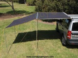 4WD Side Awning met Extension