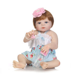 Bebe Reborn de mayor venta de muñecas de juguete blando de silicona de gran realismo realista Reborn muñeca bebé vivo