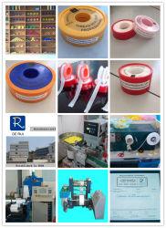100% de hilo de PTFE cinta sellante para envolver el tubo de gas y tuberías de agua