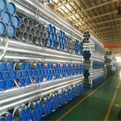 Os fabricantes Preço de venda por grosso de materiais de construção construção padrão GB usados andaimes Tubo de Aço Galvanizado