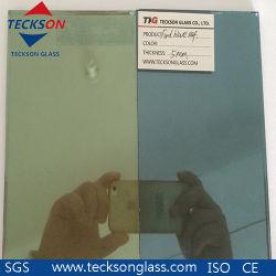 4мм Голубой / синий Форда Светоотражающий лист стекло плавающего режима
