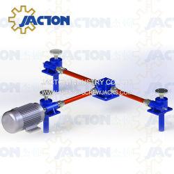 Trois points de levage d'Engrenage électrique cric à vis du système de levage