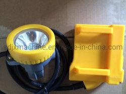 防水耐圧防爆LED李イオン電池鉱山ランプ鉱山の帽子ランプ