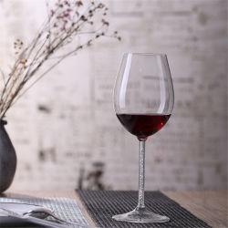 卸し売り優雅な飲むガラスのコップ状水晶のシャンペンコップのガラスゴブレットのワイングラス