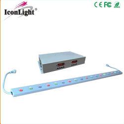 18X1w RGB светодиодная панель для установки внутри помещений Освещение на стену