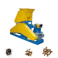 Cão de estimação Gato Frango Aves alimentos para peixes, tornando o processamento de granulação do extrusor peletizadora Alimentação Animal