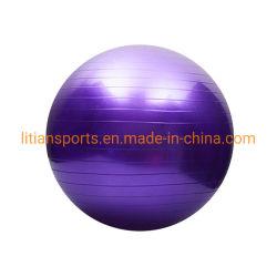 Eco freundliche Antiimpuls Belüftung-Yoga-Kugel-aufblasbare Massage-Kugel-Gymnastik-Kugel mit kundenspezifischem Firmenzeichen