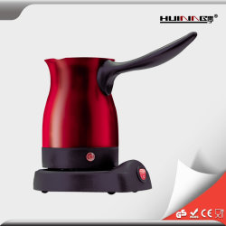 800W Contrôle automatique machine à café rouge