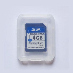 Scheda SD bulk 4 GB 128 MB 1 GB 2 GB 4 GB di capacità Scheda SD accetta Paypal Write 40 MB / Leggi 80 MB