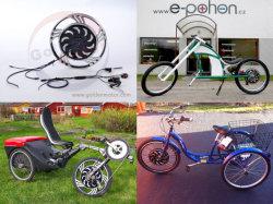 Bicicleta eléctrica regenerativo Kit Motor 200W 300W 400W, construir en el controlador de la rueda delantera de 20 pulg.