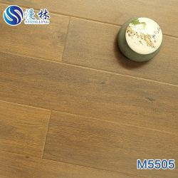 gelamineerde Bevloering van de Oppervlakte van het Ontwerp van het Eiken Hout van de Dikte van 12mm de Eir In reliëf gemaakte AC4