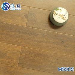 12mm de espesor de diseño en madera de roble Eir AC4 de superficie grabada de Suelos laminados