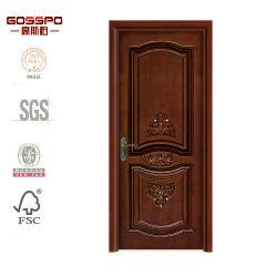 Craft Carved Custom Bedroom Interior Solid Wooden / Wood Door (GSP2-039)