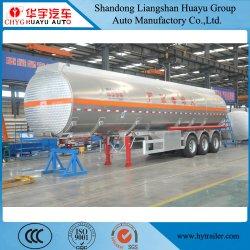 2/3 di serbatoio dell'acciaio inossidabile dell'asse/lega di alluminio/di autocisterna camion rimorchio semi per trasporto dell'olio carburante/diesel/benzina/grezzo/acqua/latte