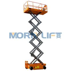 Bateria plataforma elevatória Homem eléctrico de elevação para o Trabalho aéreo