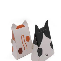 Panda de papier personnalisé de gros animaux mignons bonbons en forme de boîte cadeau