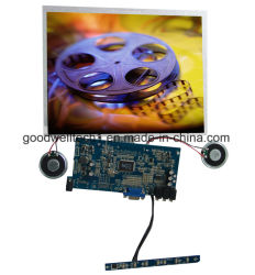 طقم شاشة TFT LCD تعمل بتقنية اللمس الصناعي مقاس 10.4 بوصة