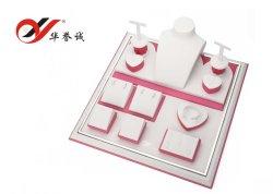 Superqualitativ hochwertiges PU-Leder-Set mit Schmuckkoffer