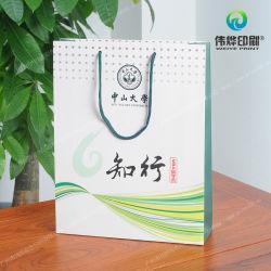 Maniglie di nylon del cavo che impaccano il sacchetto di carta del regalo di stampa