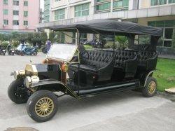純粋なハンドメイドの金属板カバー電気自動車型のクラシック車