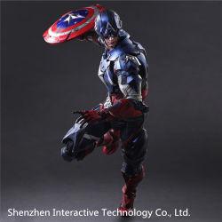 アクション・フィギュアアメリカ大尉の英雄の報復者の高品質の鉄の人のスパイダーマンの廃船体のバットマンの演劇の芸術の熱いおもちゃ