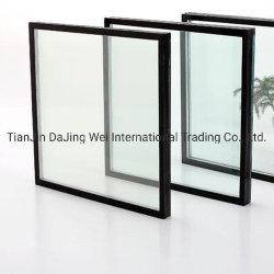 Baixa de vidro com vidro duplo e painel duplo revestimento com isolamento de vidro temperado Vidro Temperado