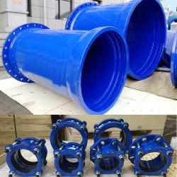 飲料水または灌漑用水の/Sewage水のための黒い延性がある鉄の鋳鉄の管付属品