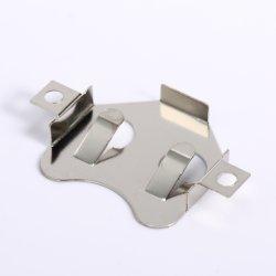 Usine de vente du métal chaud Contact électrique Support batterie CR2032