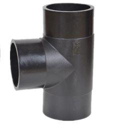 T égal Raccords de tuyaux en polyéthylène haute densité pour l'approvisionnement en eau