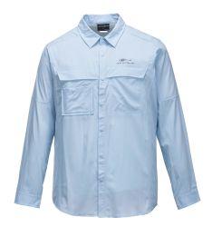 Extraíble Camiseta transpirable en la pesca deportiva (PT-007).