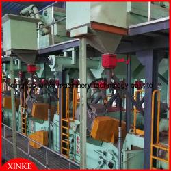Edelstahl-Riemen und Band-und Streifen-Granaliengebläse-Maschine