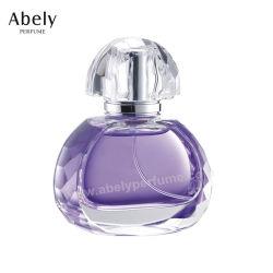 mini bottiglie di profumo di vetro eleganti 60ml delle fiale del profumo per unisex