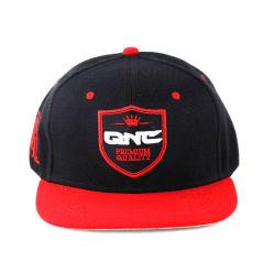 急な回復の刺繍の平らなバイザーが付いている新しい方法時代のスポーツの帽子