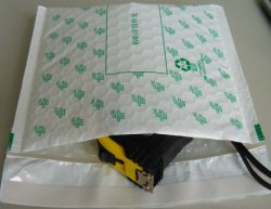 소매점을 위한 패드가 있는 맞춤형 크라프트 종이 우편물 가방