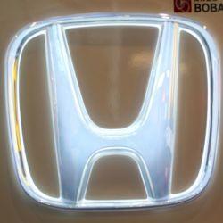 3D modellato firma il segno esterno esterno dell'automobile di illuminazione LED