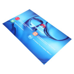 Autoadesivo statico del vinile delle decalcomanie della pellicola su ordinazione della stampa