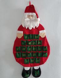 Produits Delton estimé Santa compte à rebours de Noël Calendrier de l'Avent en tissu