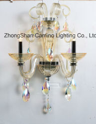 Le style français Crystal Wall bougeoir, Ab couleur, éléments Swarovski Crystal Wall Lamp