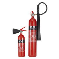 Brandblusapparaat van Co2 van het Koolstofstaal Kitemark van de Norm van ISO het Engelse StandaardEn van het Staal van de Legering