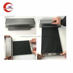 CNC 기계를 위한 나일론 피복 금속 쉘 롤러 덮개