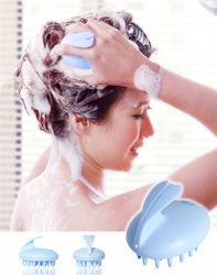 Massage-Haar-Kamm-Silikon-Kopfmassager-Pinsel der Dusche-Sy8-04-001
