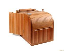 0ne persona Cedro de medio cuerpo de infrarrojos Sauna