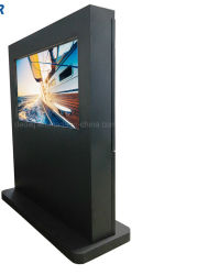 Dedi 55-inch HD-mediaspeler 1080P reclame-LCD Totem