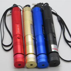 レーザーのペンの緑レーザーのポインター強力なレーザーのポインターを焼き付ける調節可能なSD 303の焦点