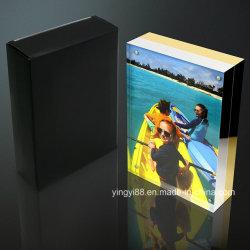 Elegante 5X7 Acrílico transparente Magnético Moldura Fotográfica de imagem