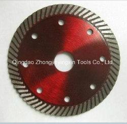 Type de Turbo Diamond lame de scie circulaire pour le béton coupe carreaux de brique de pierre